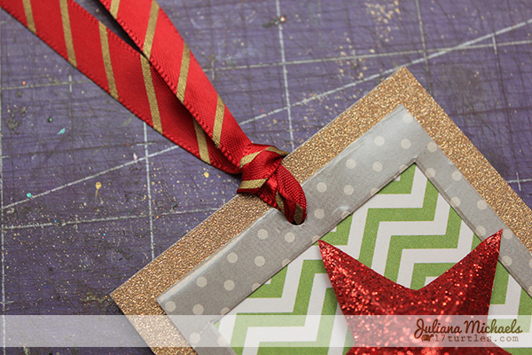 Star Christmas Gift Tags Tutorial 12 by Juliana Michaels