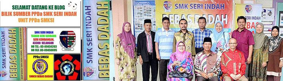 WELCOME BILIK SUMBER PPDa SMK SERI INDAH