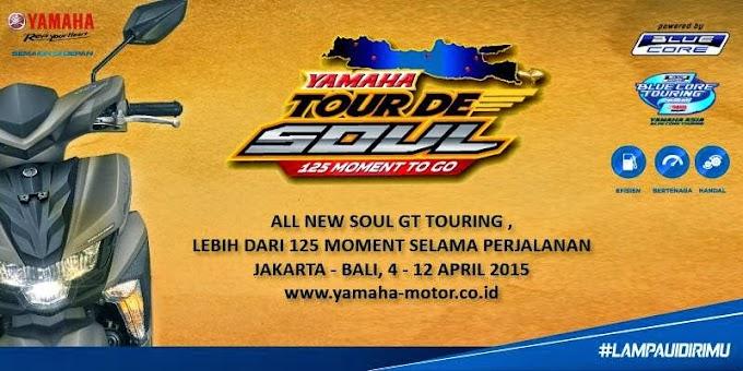 Yamaha Gelar Tour de Soul 125 Moment to Go