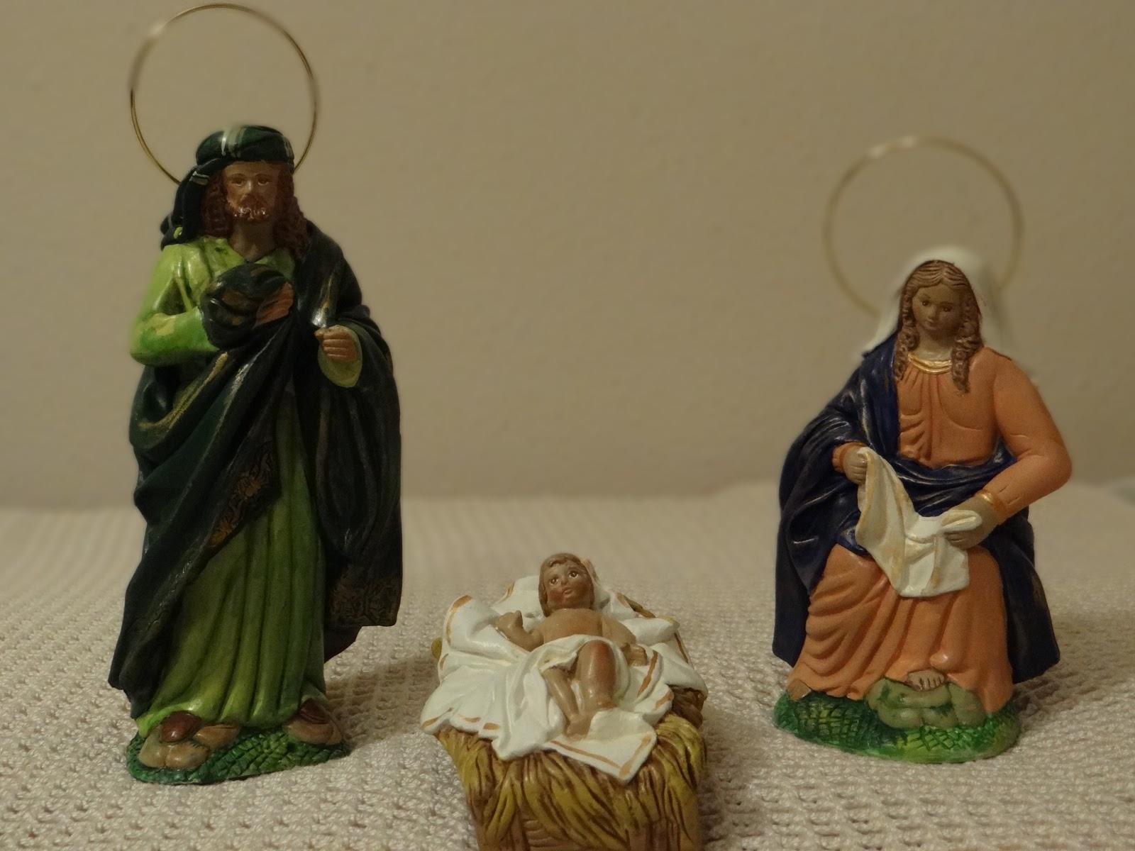 Tu rinc n del punto bel n navide o pintado a mano - Belen navideno manualidades ...