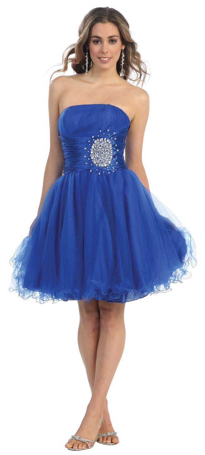 Plus size junior short prom dresses