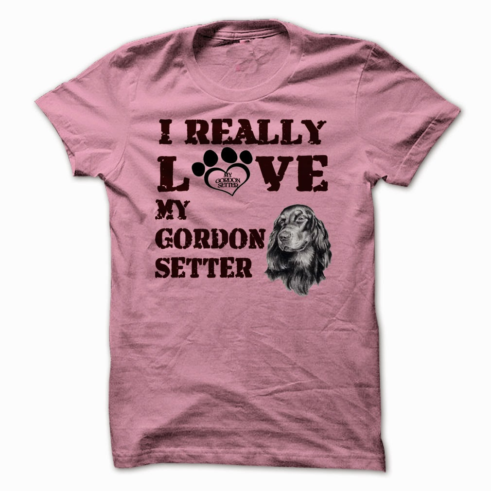I Really Love My Gordon Setter shirts and hoodie
