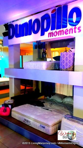 The Dunlopillo Showroom at Ital Design BGC