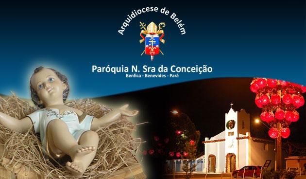 missa de natal em Benfica,Pará