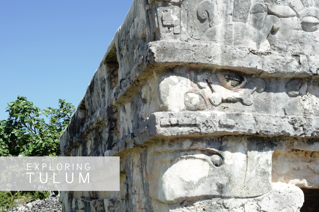 Ancient Mayan Ruins of Tulum