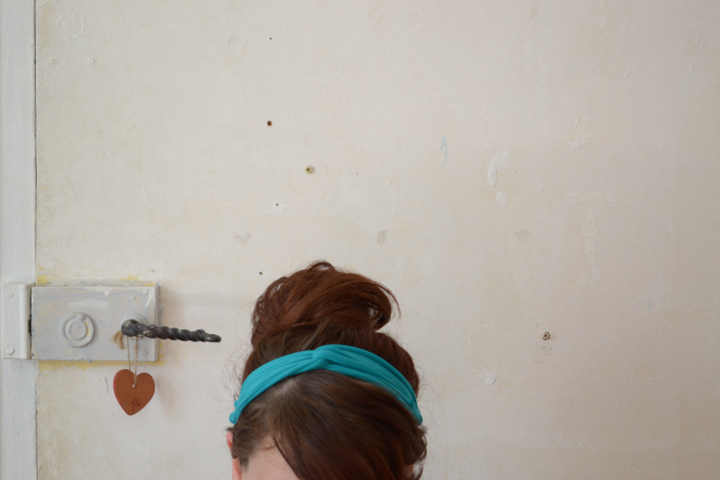 headband DIY avec un collant
