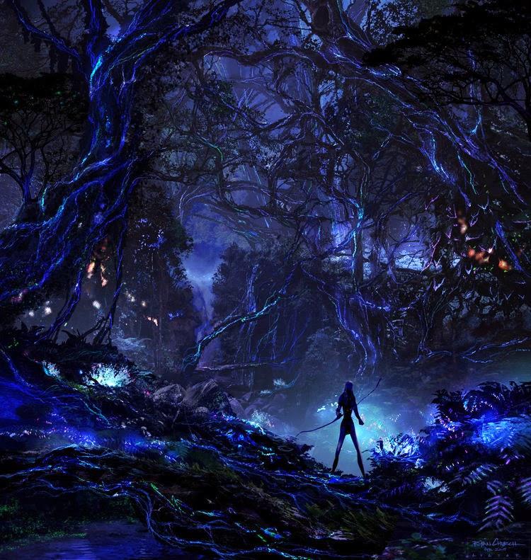 Avatar Art: Breath-Taking AVATAR Concept Art By Ryan Church « Film Sketchr