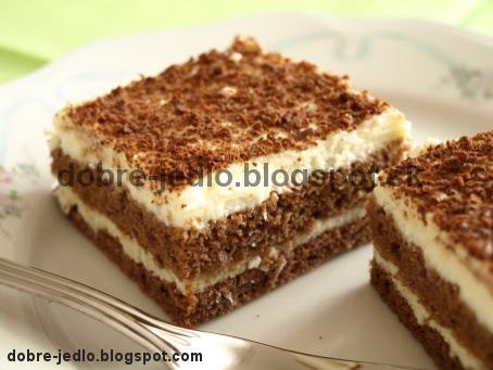 Dvojfarebný koláč - recepty