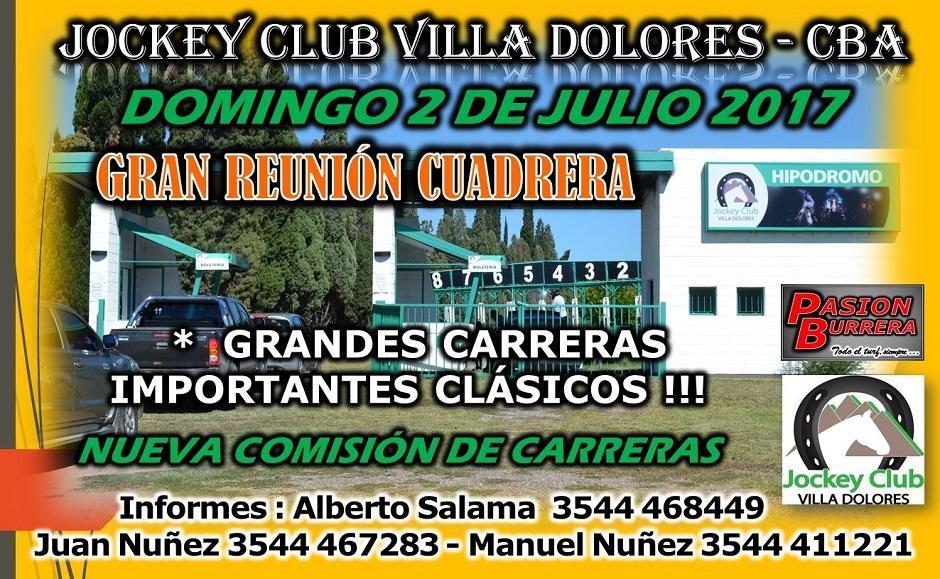 VILLA DOLORES - 2 DE JULIO