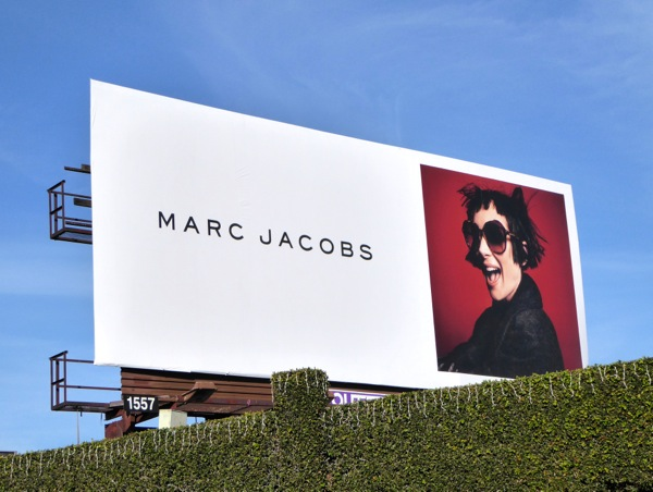 Winona Ryder Marc Jacobs FW 2015 billboard