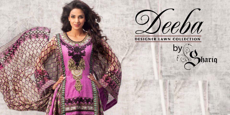 deebahummeralawncollection2012byshariq28629 - Deeba Designer Lawn 2012