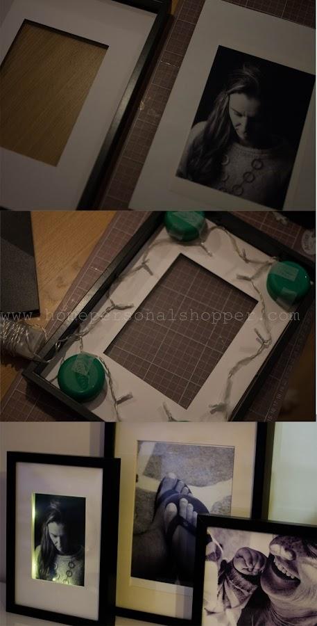Un marco de fotos con un toque especial manualidades - Home personal shopper ...