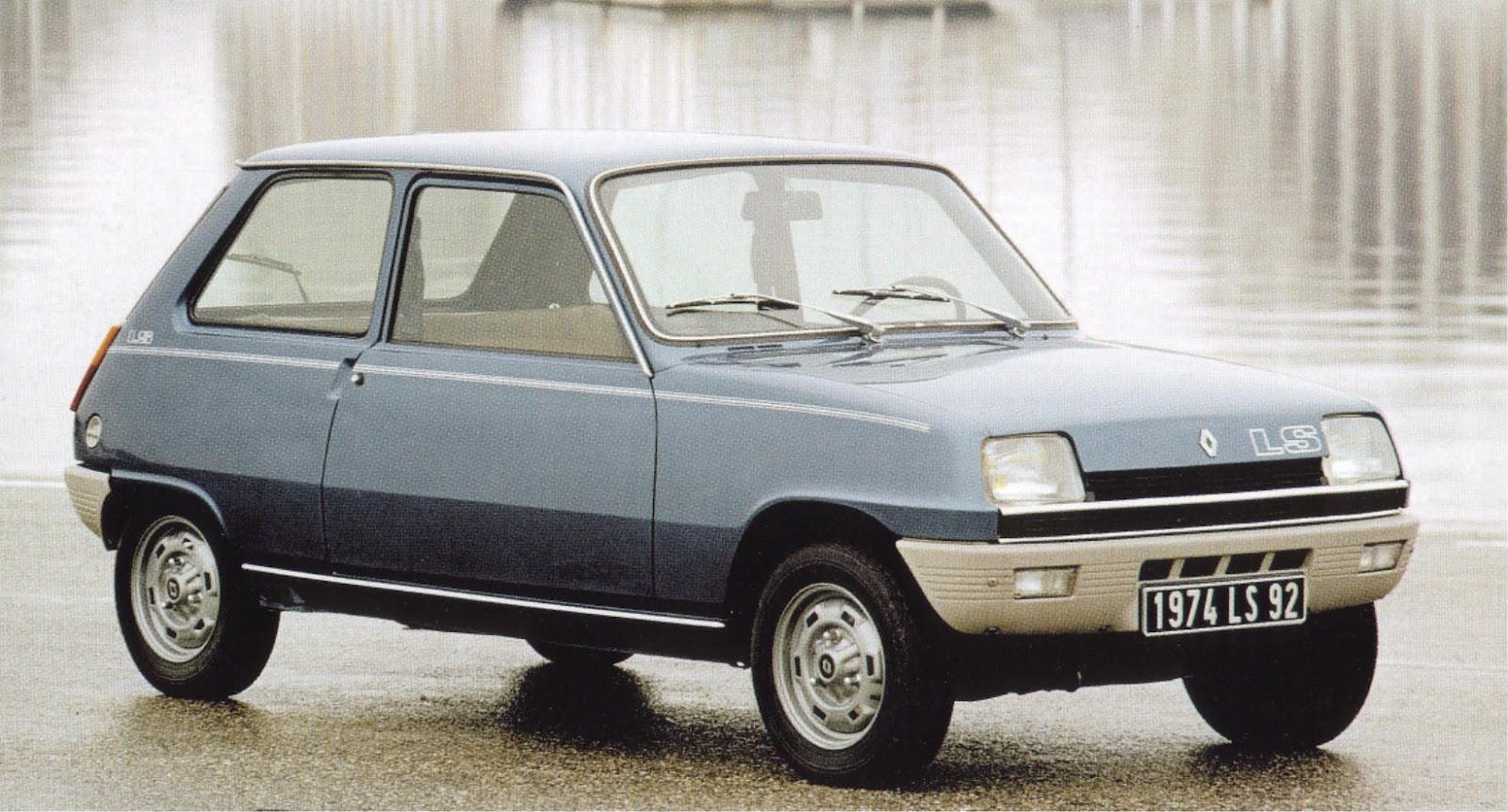 Renault 5 LS (1974)