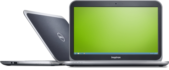 dell Inspiron 14z black color front view