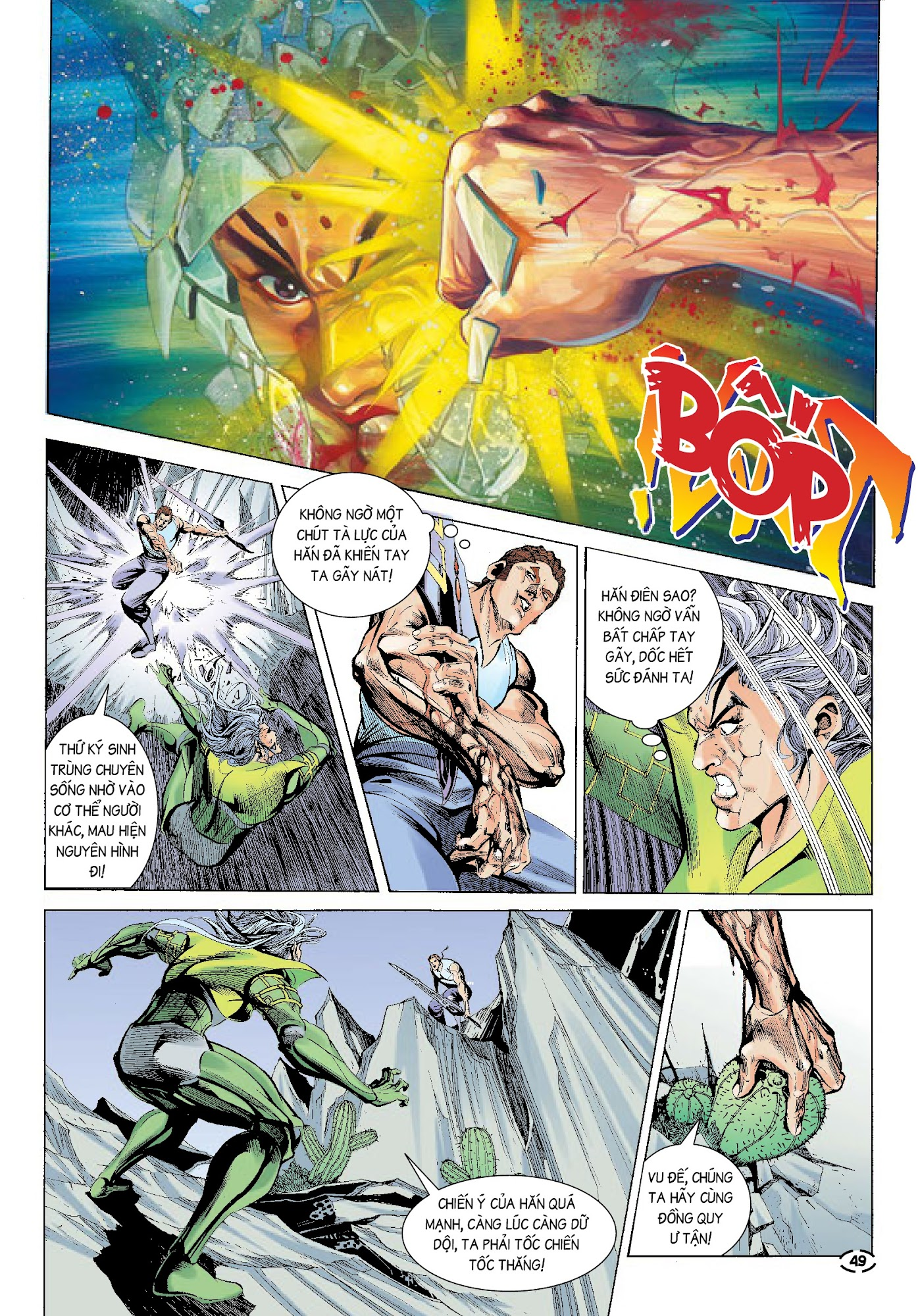Đại Kiếm Sư Chap 32 - Trang 13