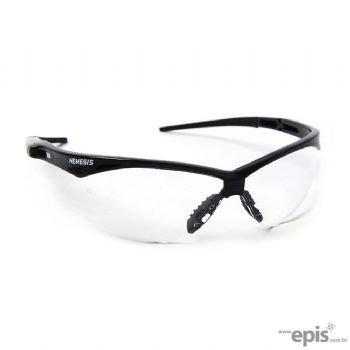 Óculos de segurança nemesis armação preta lente incolor - Jackson 96df301a6f