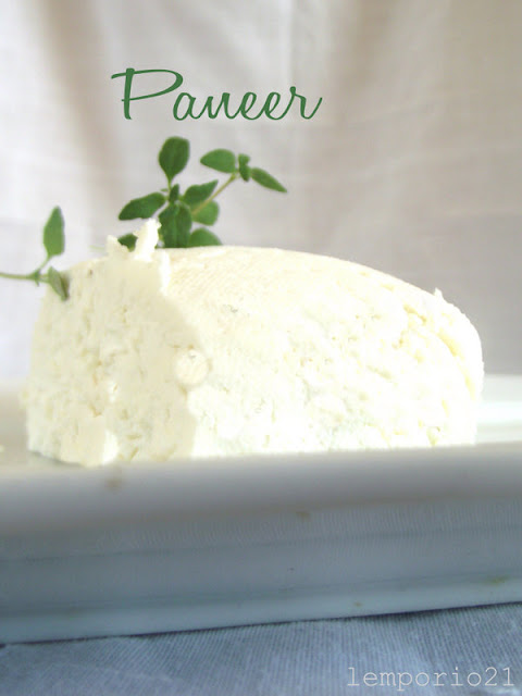 il paneer e il cheese naan ovvero facciamo il formaggio a casa!