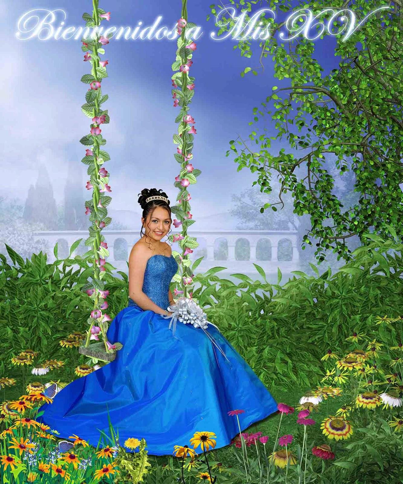 Foto de firmas para 15 años - Plantillas para Photoshop 2014