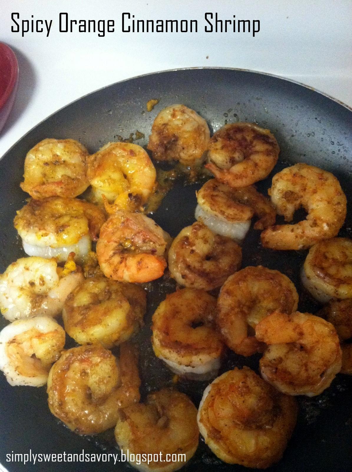 Spicy Orange Shrimp Recipe — Dishmaps