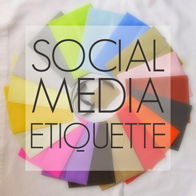 The Nutmeg Collective: Social Media Etiquette: All Platforms