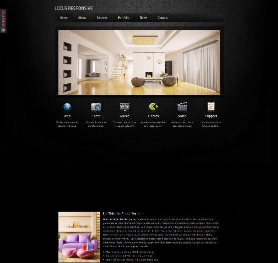 Locus - Responsive One Page HTML Template