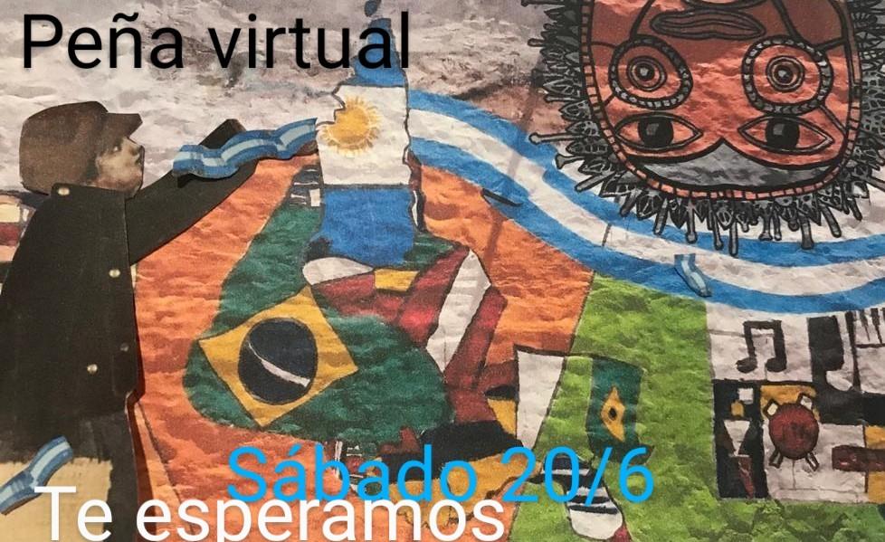 """PEÑA """"VIRTUAL"""" 2020/ SABADO 20/6 15 HS."""