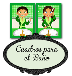 Cuadros de Baño