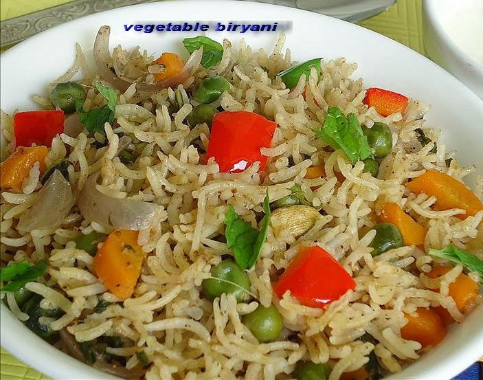 vegetable biryani | Home cooking