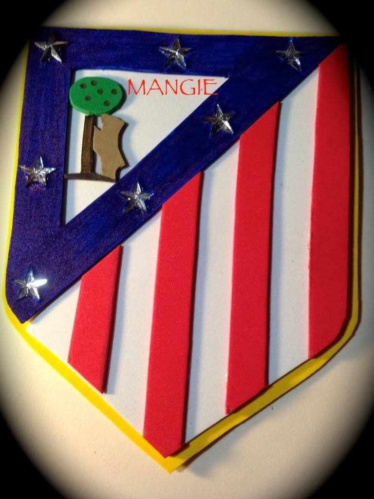 Detalle del escudo atlético