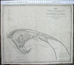 Historic Map of the Provincetown Harbor