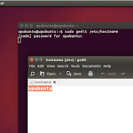 How to Change Your Computer Name (Hostname) Under Ubuntu 14.10/14.04 or Older