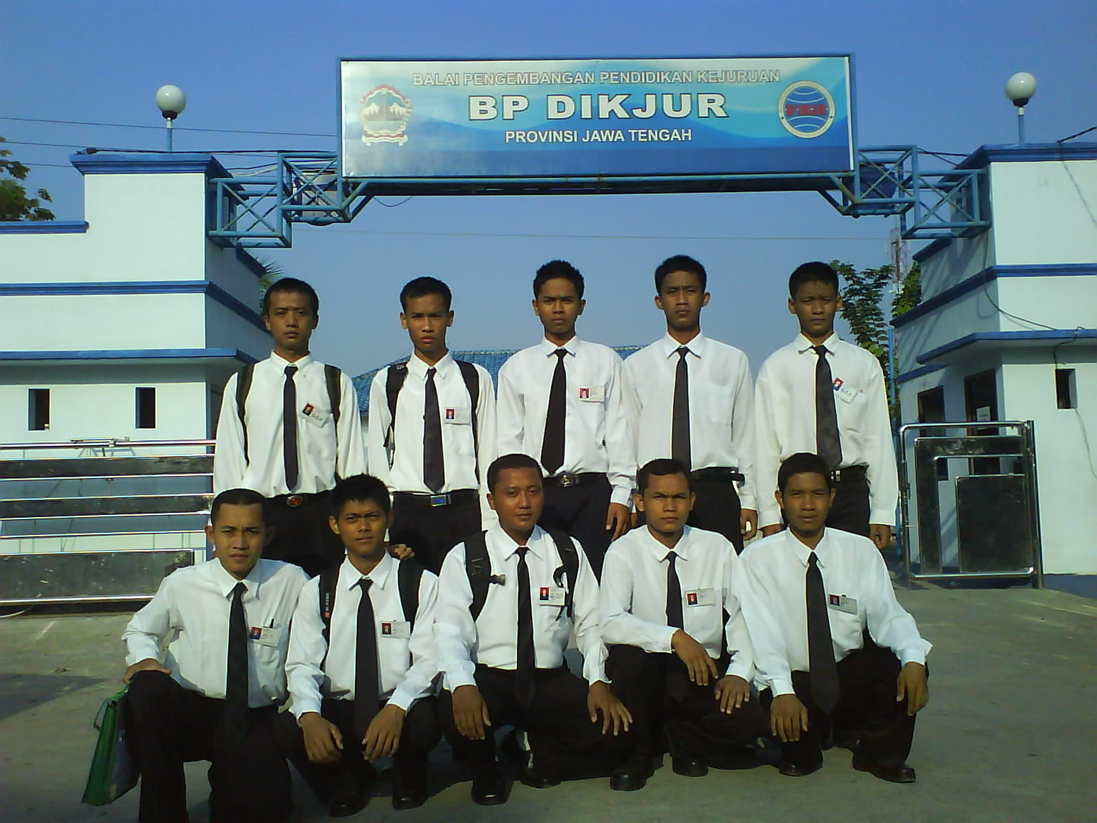 Peserta saat di BP DIKJUR Provinsi Jawa Tengah.