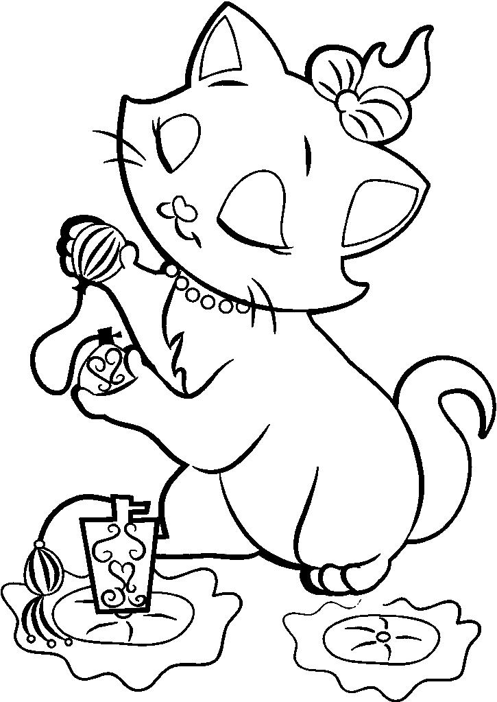 Dibujos y Plantillas para imprimir: Gatos