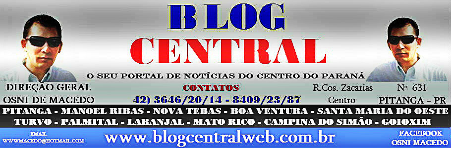 BLOG CENTRAL DE PITANGA