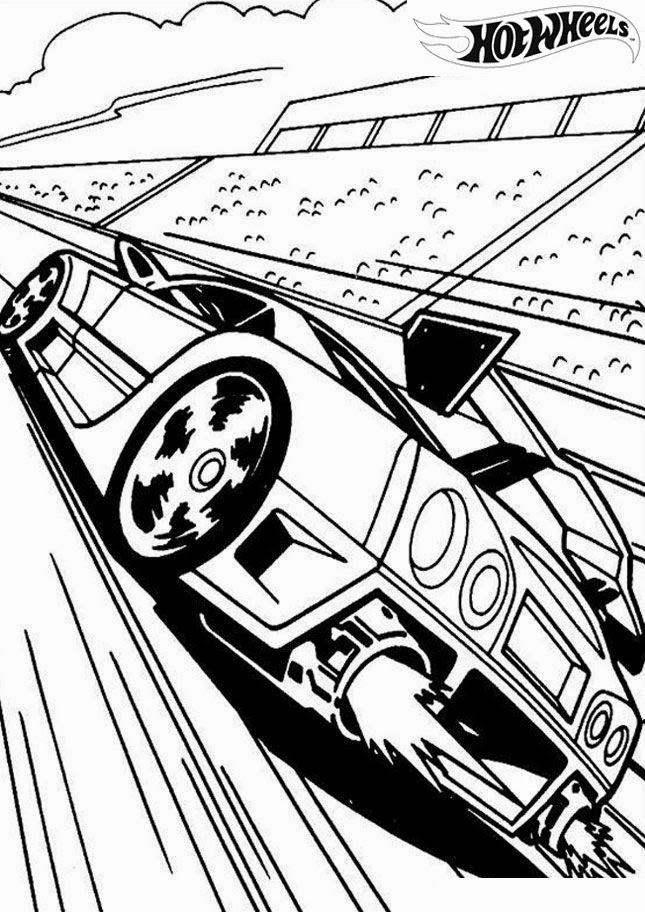 Hot Wheels Coloring Pages 25