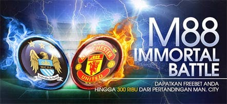 Freebet 500 ribu saat Manchester City vs Manchester United
