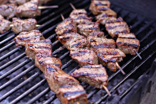Grilled Beef Kebabs Pinoy Style Recipe