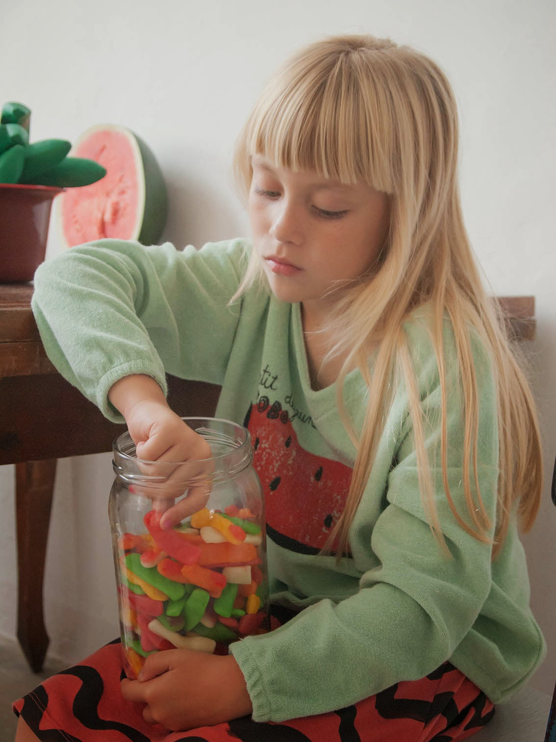 Bobo Choses Spring-Summer 2015 - watermelon sweatshirt