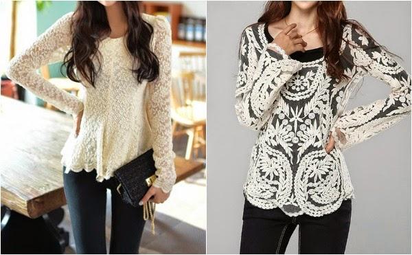 blusas bordadas comprar