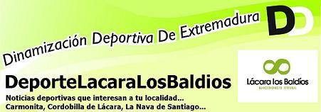 DEPORTE MANCOMUNIDAD LACARA LOS BALDIOS