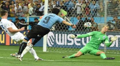 gambar hasil pertandingan uruguay vs. inggris