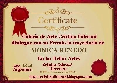 Monica Renedo - Premio
