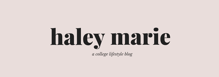 Haley Marie Blog // living the pre-law life in style
