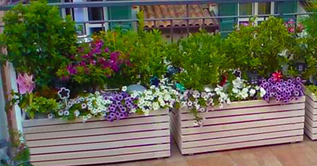 Progettare spazi verdi come costruire fioriera con i pallet - Come rivestire internamente un baule ...