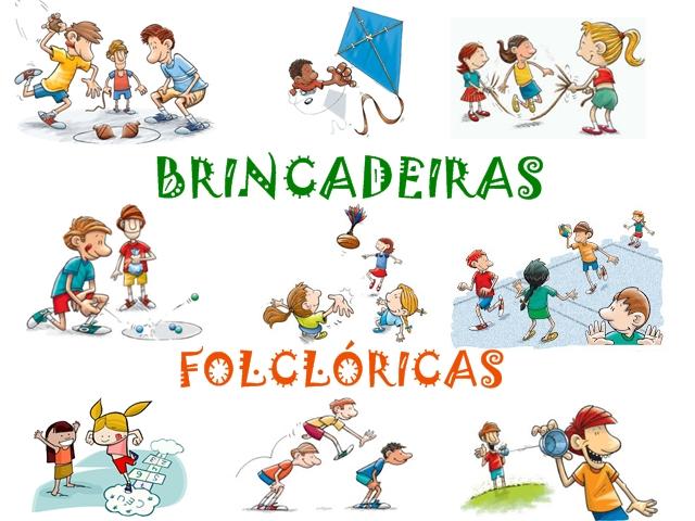Famosos Plano de Aula - Folclore (Brincadeiras) | Armário do Professor UC91