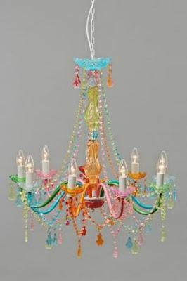 Lamparas de arana decorar tu casa es - Lampara arana colores ...