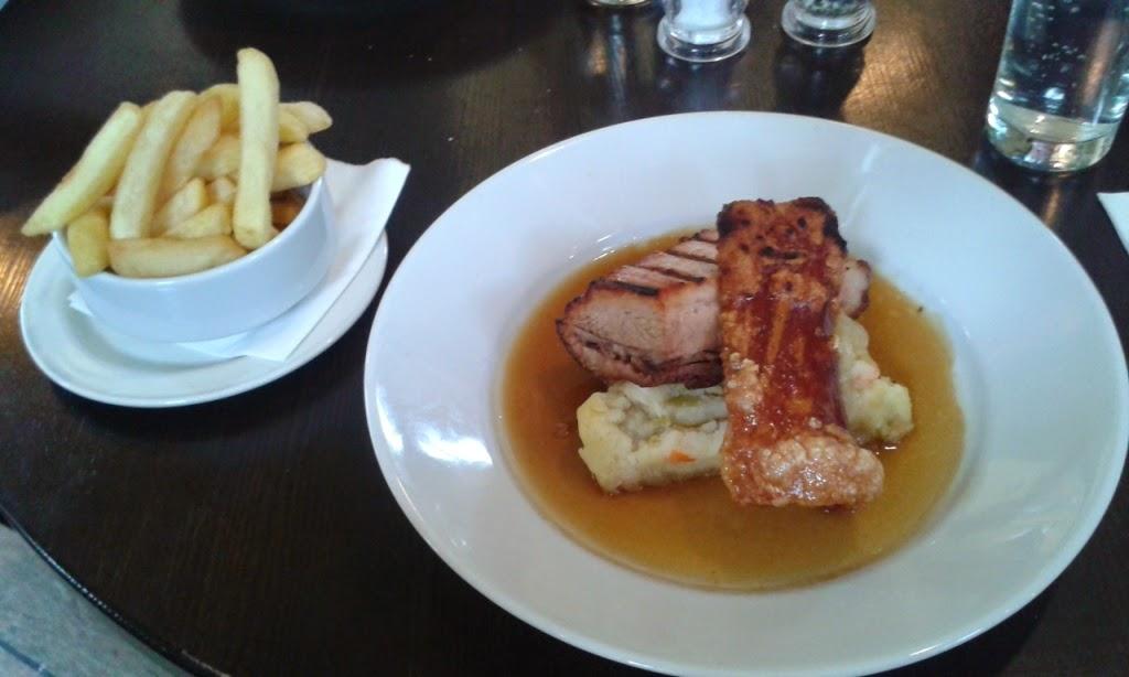 Gluten free lunch at the Black Tiles Restaurant & Bar in Martlesham, Woodbridge