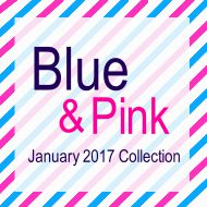 """Blue and Pink"" Planner Pages"
