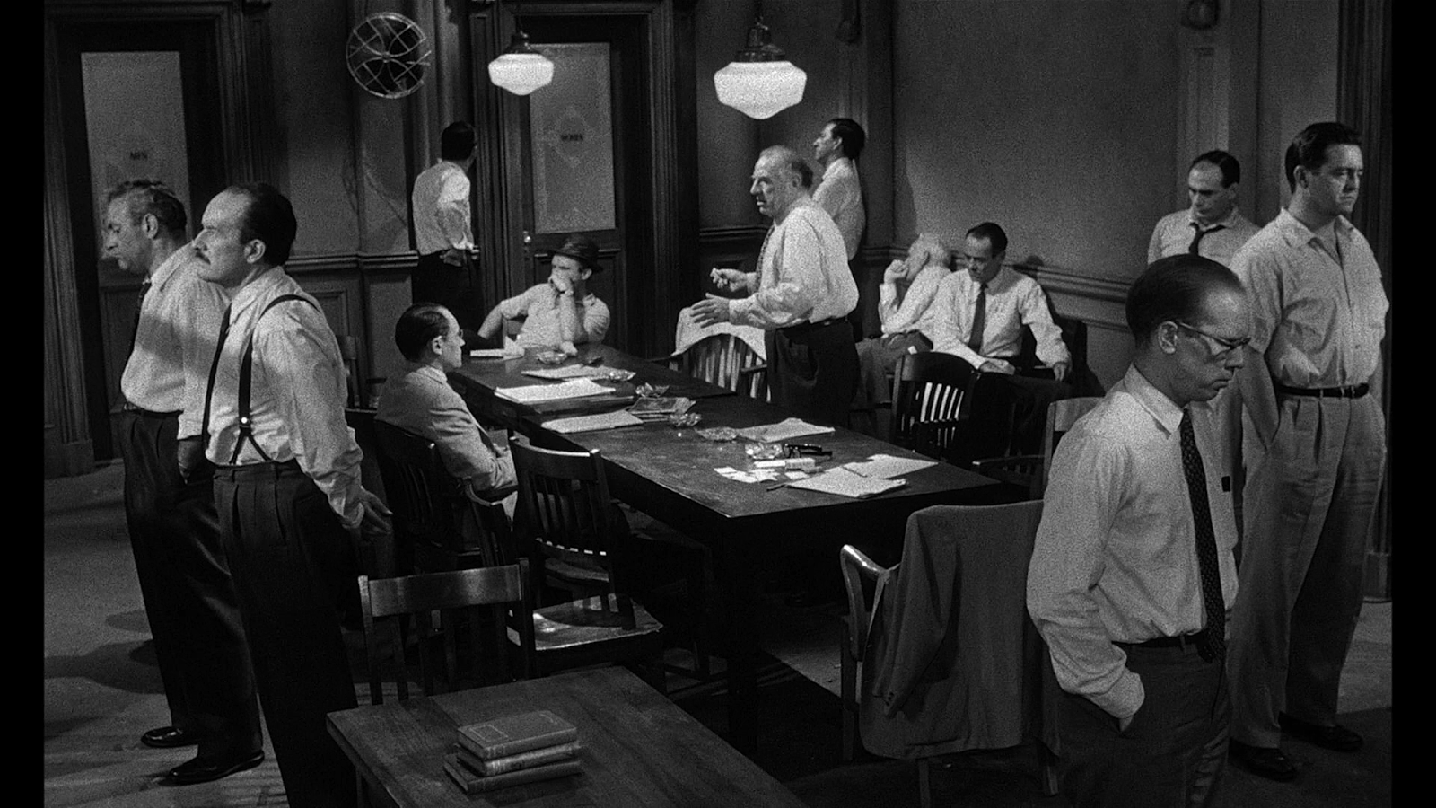 "jury and angry men Based on the teleplay ""12 angry men"" by reginald rose  in this seminal  american jury room classic, jurors deliberate a case and reveal their biases,."