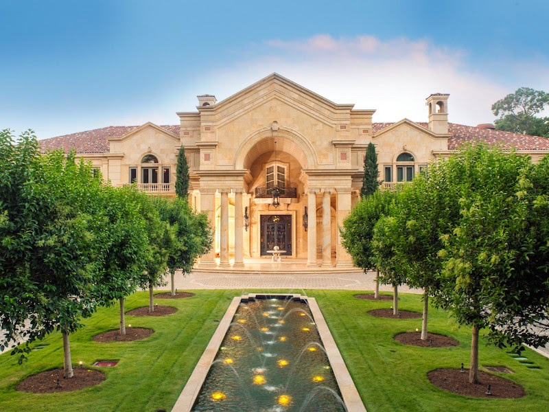 Passion For Luxury Chateau Like Property In Houston
